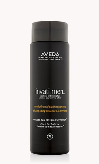 "invati men<span class=""trade"">™</span> nourishing exfoliating shampoo"
